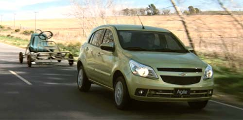 "Comercial Chevrolet Agile ""Autitos"" para Argentina"