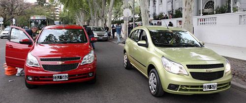 Contacto de prensa con el Chevrolet Agile - Foto: Fabián Malavolta