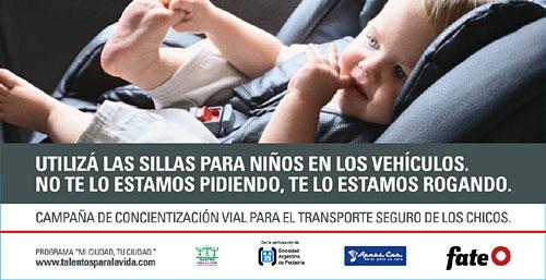 Campaña de Seguridad Vial de Fate.