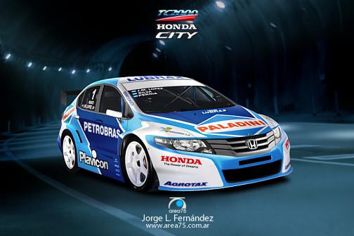 El Honda City de TC2000 según Jorge Fernández - Especial para Cosas de Autos.