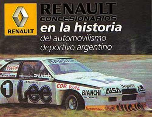 """Libro """"Renault en la historia del automovilismo argentino"""""""