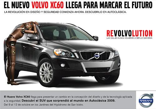 Aviso Volvo XC60