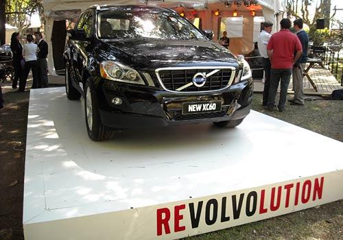 La Volvo XC60 en Autoclásica 09