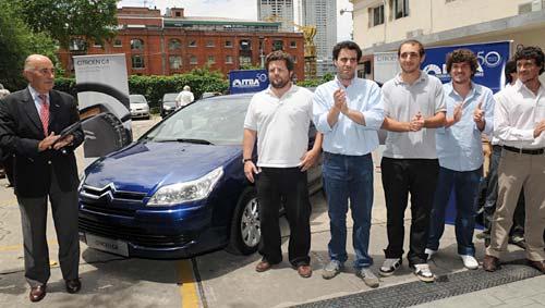 Concurso Citroën: el ITBA ganó con un proyecto de GNC + hidrógeno