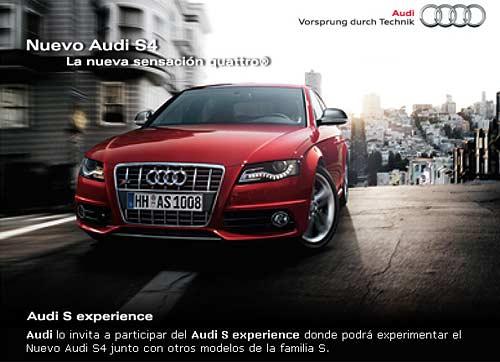 Nuevo Audi S4 Test drive