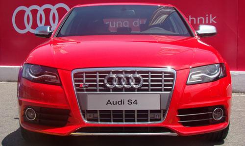 Presentación del Audi S4 en el Gálvez