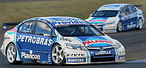 El Honda Civic de Pechito López