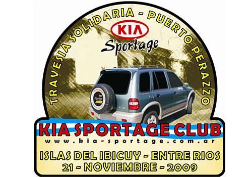 Travesía solidaria del Kia Sportage Club a Entre Ríos