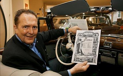 Michael Fröhlich y el Mercedes 770 K que usó Hitler