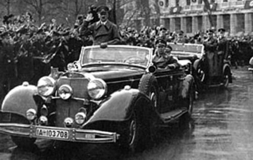 Mercedes 770 K de Adolf Hitler