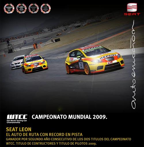 Seat Campeón del WTCC 2009