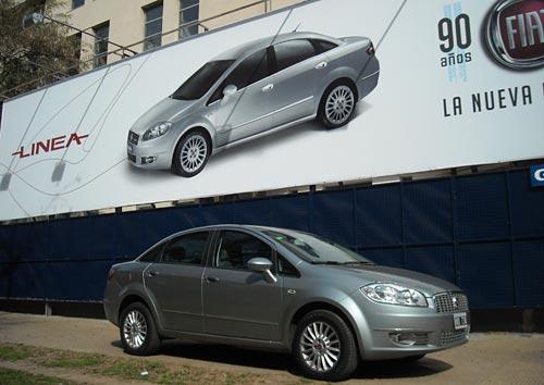 Test Fiat Linea - Foto: Cosas de Autos