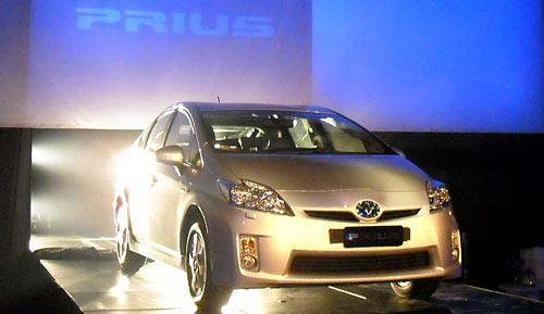 Lanzamiento del Toyota Prius