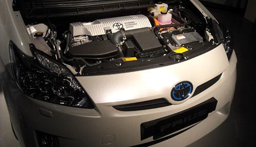 Motor del Toyota Prius