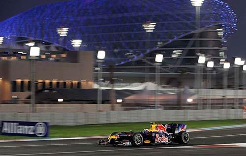 Sebastian Vettel y su Red Bull