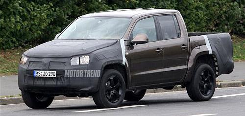 Volkswagen Amarok camuflada - Foto: Motortrend