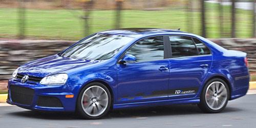 VW Jetta TDI Cup Street