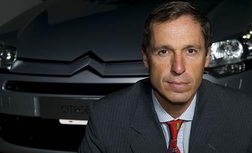 Luis Basavilbaso, titular de Citroën