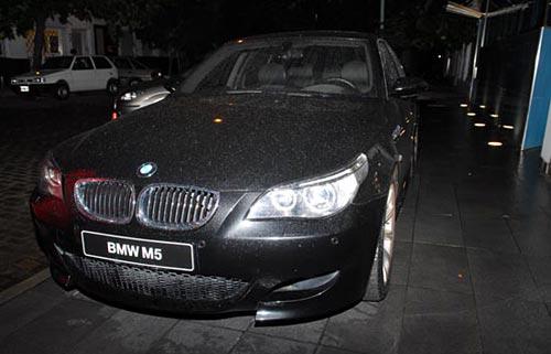 El BMW M5 cedido por Trepat que manejará Traverso - Foto: ACTC