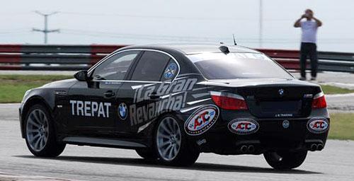 Traverso a bordo de su BMW intentó pero no pudo con los TC - Foto: ACTC