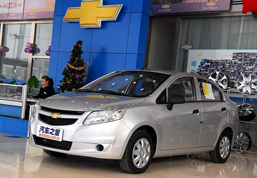 Nuevo Chevrolet Sail 2010 - Foto: Autohome China