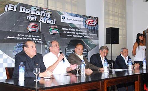 La conferencia de prensa del Desafío del Año - Foto: ACTC
