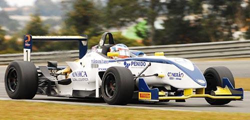 Auto campeón del Cesario Fórmula con Leonardo Cordeiro al volante - Foto: Flavio Quick