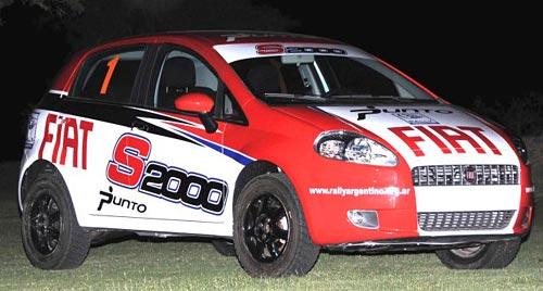 Fiat Punto S2000 - Foto: Prensa Rally Argentino