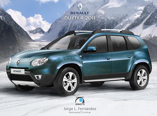 Renault Duster - Especulación de Area75