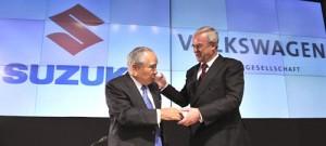 Volkswagen compró el 20% de Suzuki