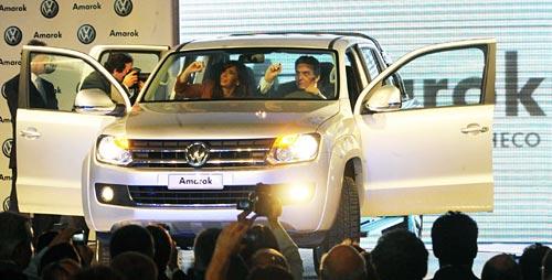 Lanzamiento industrial de la VW Amarok