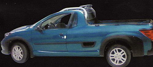 La Peugeot 207 pick-up - Foto: Quatrorodas