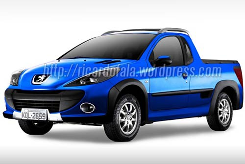 Peugeot 207 pick-up - Foto: Ricardofala