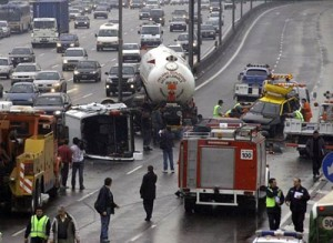 Accidente en la Panamericana - Foto: Télam.