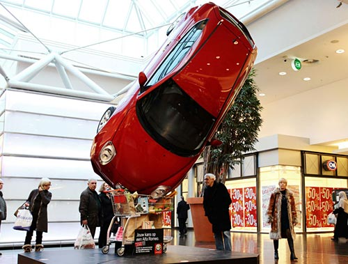 Acción de Alfa Romeo en  Bélgica creada por la agencia Duval Guillaume.