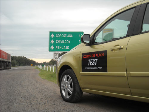 Travesía con el Chevrolet Agile - Foto: Cosas de Autos