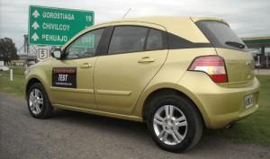 Travesía Chevrolet Agile - Foto: Cosas de Autos