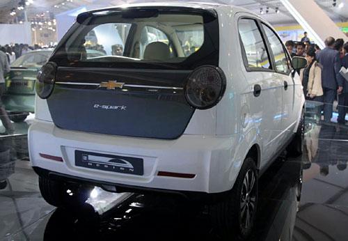 Chevrolet e-Spark - Fotos: Shrawan Raja