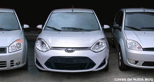 """Comparación del """"nuevo"""" Ford Fiesta para el Mercosur con sus generaciones anteriores - Fotomontaje: Cosas de Autos"""