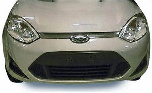 Frente del Ford Fiesta 2011 para el Mercosur - Foto: Vrum
