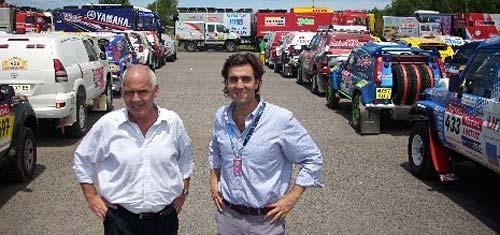 El secretario de Turismo de la Nación, Enrique Meyer y el titular del Instituto Nacional de Promoción Turística, Leandro Boto.