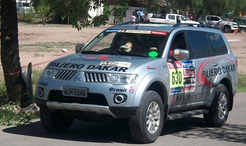 Mitsubishi Pajero Dakar en el Dakar Argentina-Chile 2010 - Foto: Inforace para Cosas de Autos.