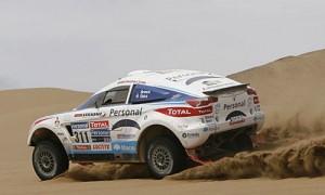 Orly Terranova busca meterse entre los diez de adelante - Foto: Prensa Dakar.