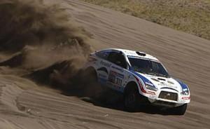 Terranova fue noveno en el Dakar 2010.
