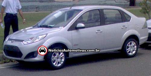 Ford Fiesta Sedán Mercosur 2011 - Foto: NoticiasAutomotivas
