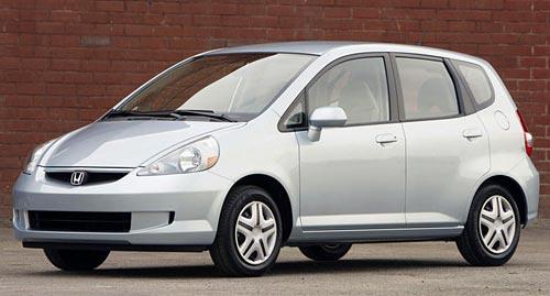 Honda Fit de primera generación.