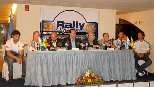Presentación del 30º Rally de la Argentina del Bicentenario