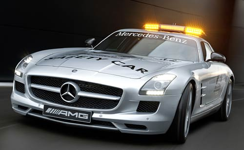 Mercedes-Benz SLS AMG Safety Car 2010