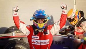 Fernando Alonso ganó en Barhein con Ferrari