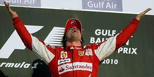 Fernando Alonso ganó en su debut con Ferrari.